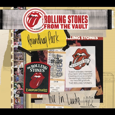 The Rolling Stones - From The Vault: Live In Leeds 1982 (CD/DVD)