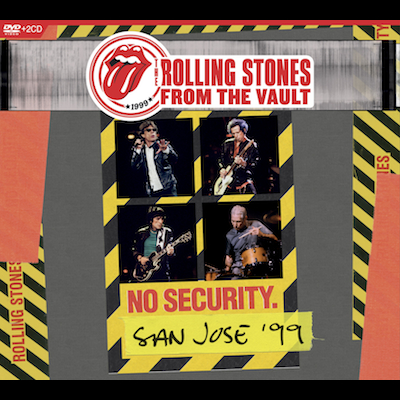 The Rolling Stones - From The Vaults: No Security San Jose '99 (DVD/Blu-ray)