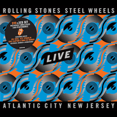 The Rolling Stones - Steel Wheels Live: Atlantic City (DVD/CD)
