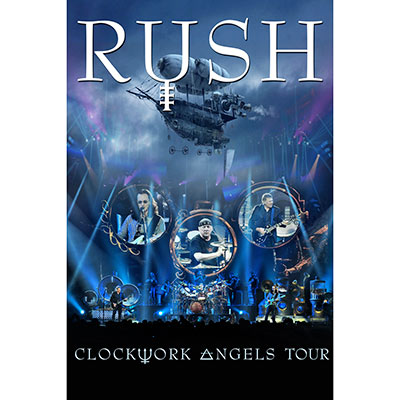 Clockwork Angels Tour (DVD/Blu-ray) by Rush