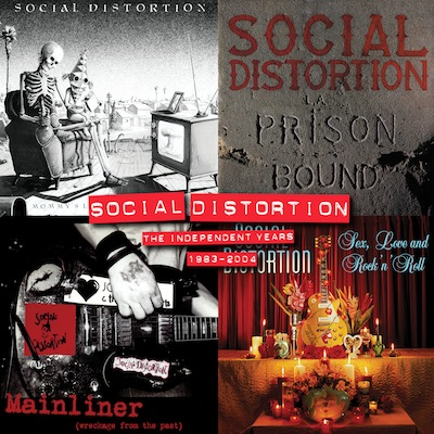 Social Distortion - The Independent Years: 1983 – 2004 (Vinyl Box Set)