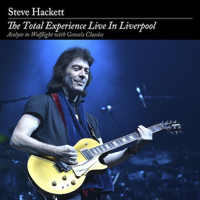 Steve Hackett - The Total Experience Live In Liverpool (CD+DVD)