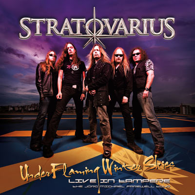 Under Flaming Winter Skies - Live In Tampere (CD/DVD) by Stratovarius
