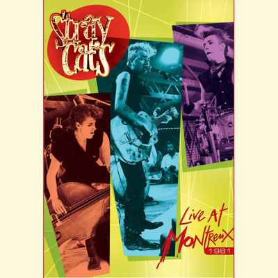 Live At Montreux 1981 (DVD) by Stray Cats