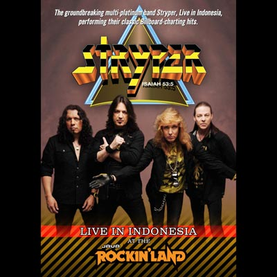 Live In Indonesia At Java Rockin' Land (DVD) by Stryper