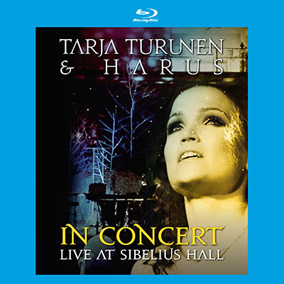 In Concert - Live At Sibelius Hall (CD/Blu-ray) by Tarja Turunen & HARUS