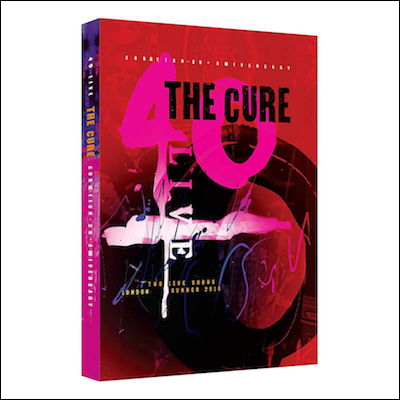 The Cure - 40 Live Curaetion 25 + Anniversary (DVD/Blu-ray)