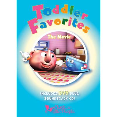 Favorite Series - Toddler Favorites - The Movie [DVD + CD]