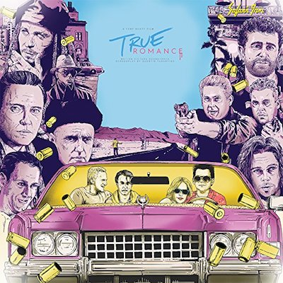 Soundtrack - True Romance: Pillow Feather White/Blood Red Vinyl