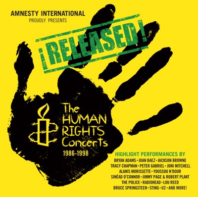 Released! The Human Rights Concerts 1986-1998 by Various Artists