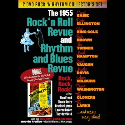Various - Rock 'n Roll Revue And Rhythm & Blues Revue (DVD)