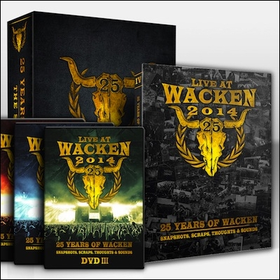 25 Years Of Wacken: Snapshots, Scraps, Thoughts & Sounds (DVD) by Various Artists