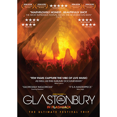 Glastonbury The Movie: In Flashback (DVD/Blu-Ray) by Various Artists