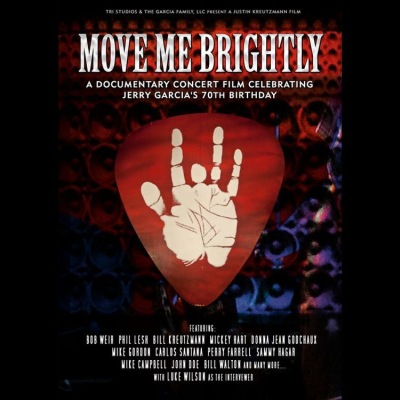 Move Me Brightly: Jerry Garcia Birthday Party (DVD/Blu-ray) by Various Artists