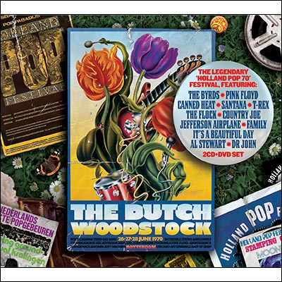 The Dutch Woodstock 1970 (CD/DVD) by Various Artists