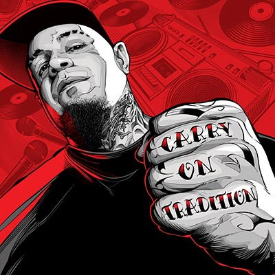 Carry On Tradition (Vinyl EP) by Vinnie Paz