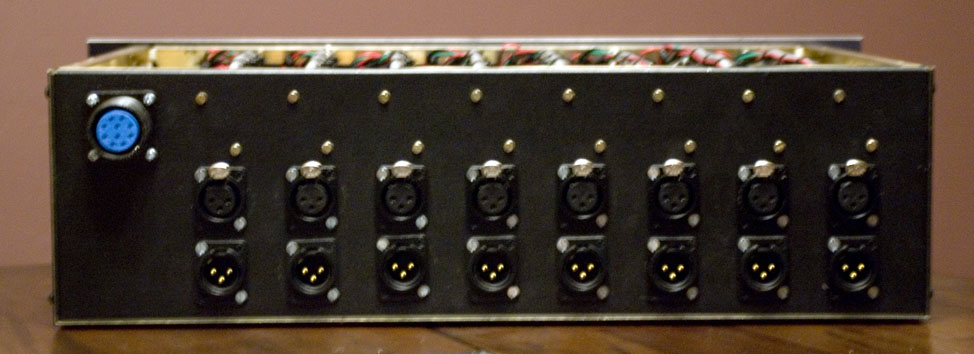 8 channel, 3u neve 1073 completed