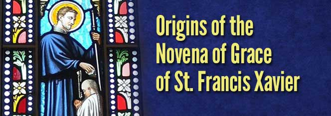 Origins of the Novena of Grace Header