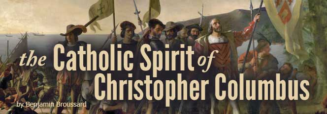 The Catholic Spirit of Christopher Columbus Header