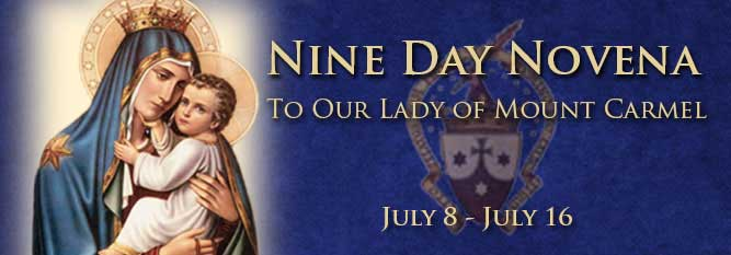 Header-Nine Day Novena to Our Lady of Mt Carmel