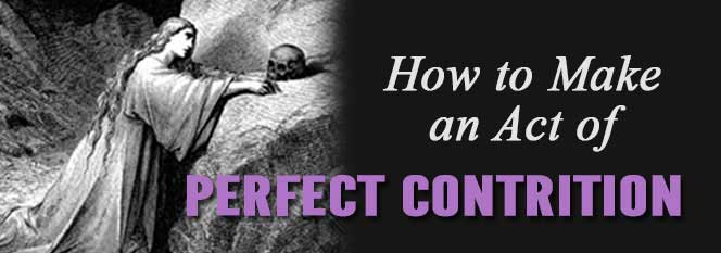 How to Make an Act of Perfect Contrition