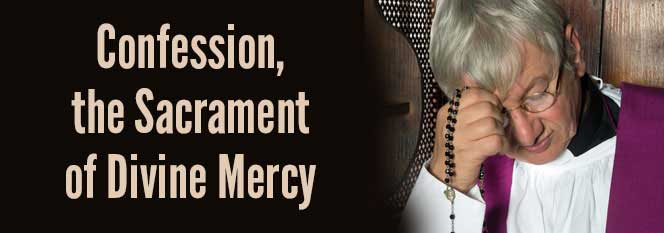Header - Confession the Sacrament of Divine Mercy