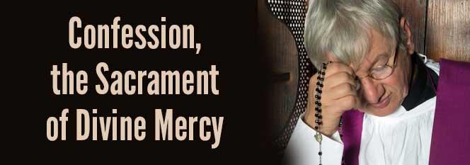 Header - Confession the Sacrament of Divine Mercy