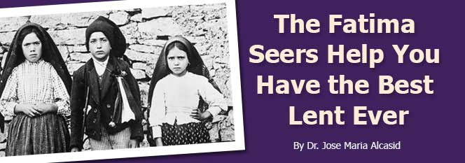 Header - Fatima Seers - Best Lent Ever