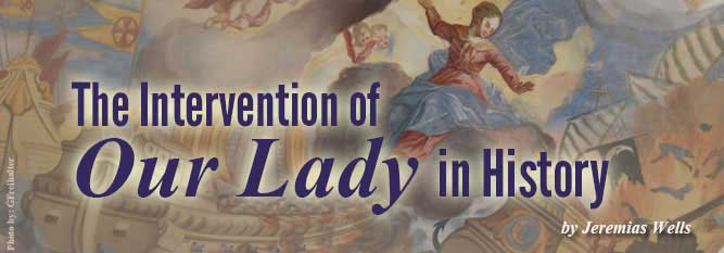 Header-The Intervention of Our Lady in History