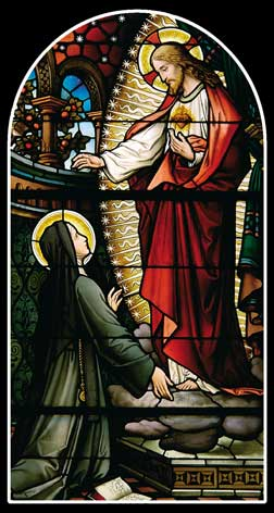 St Margaret Mary Alacoque and the Sacred Heart of Jesus