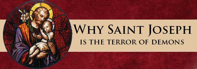 Header-Why St Joseph is the Terror of Demons