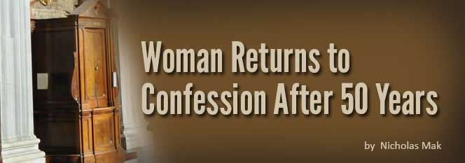 Header-Woman returns to Confession