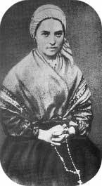 St Bernadette Soubirous