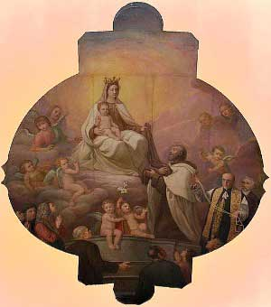 Painting-Our Lady of Mount Carmel