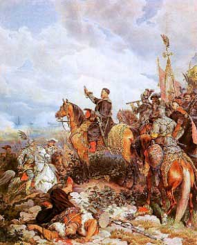 Army at the battle