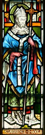 Stained Glass of St. Laurence O'Toole