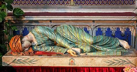 Statue of St. Cecilia