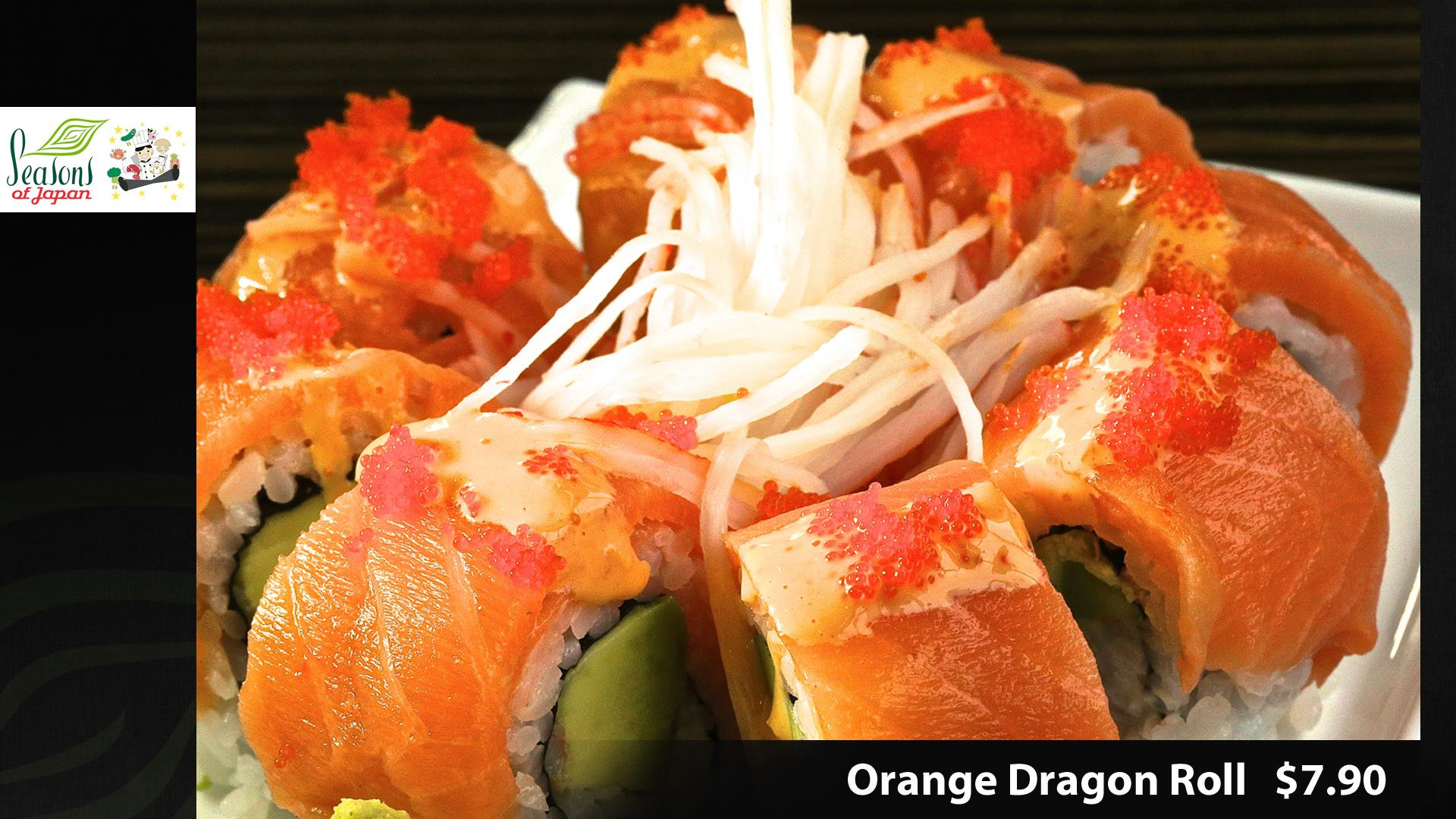 Fried Dragon Roll Order Online! S...