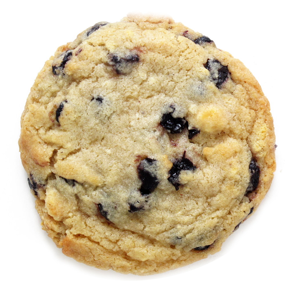 Blueberry-and-Cream Cookies Recipe — Dishmaps