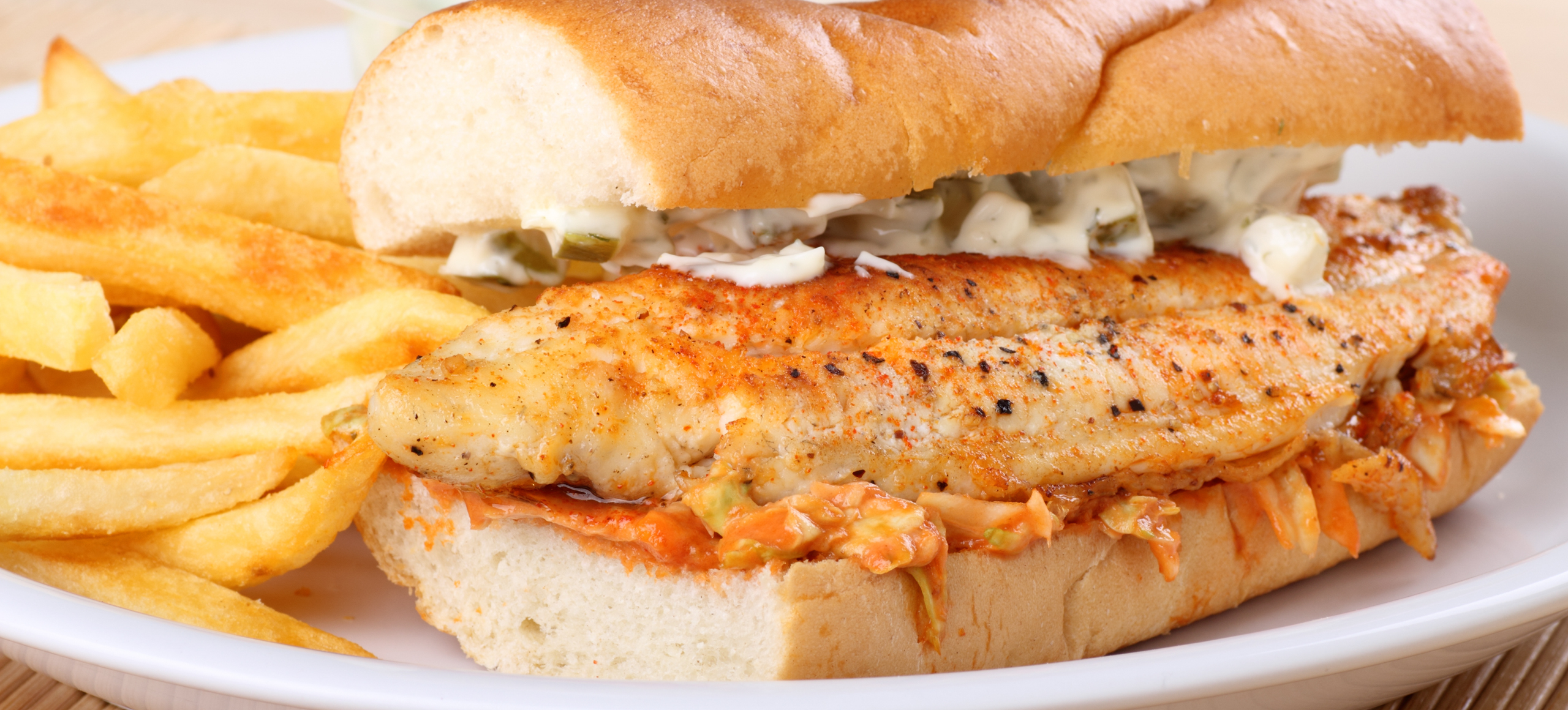 Order online catch isle d open dining for Who has the best fish sandwich