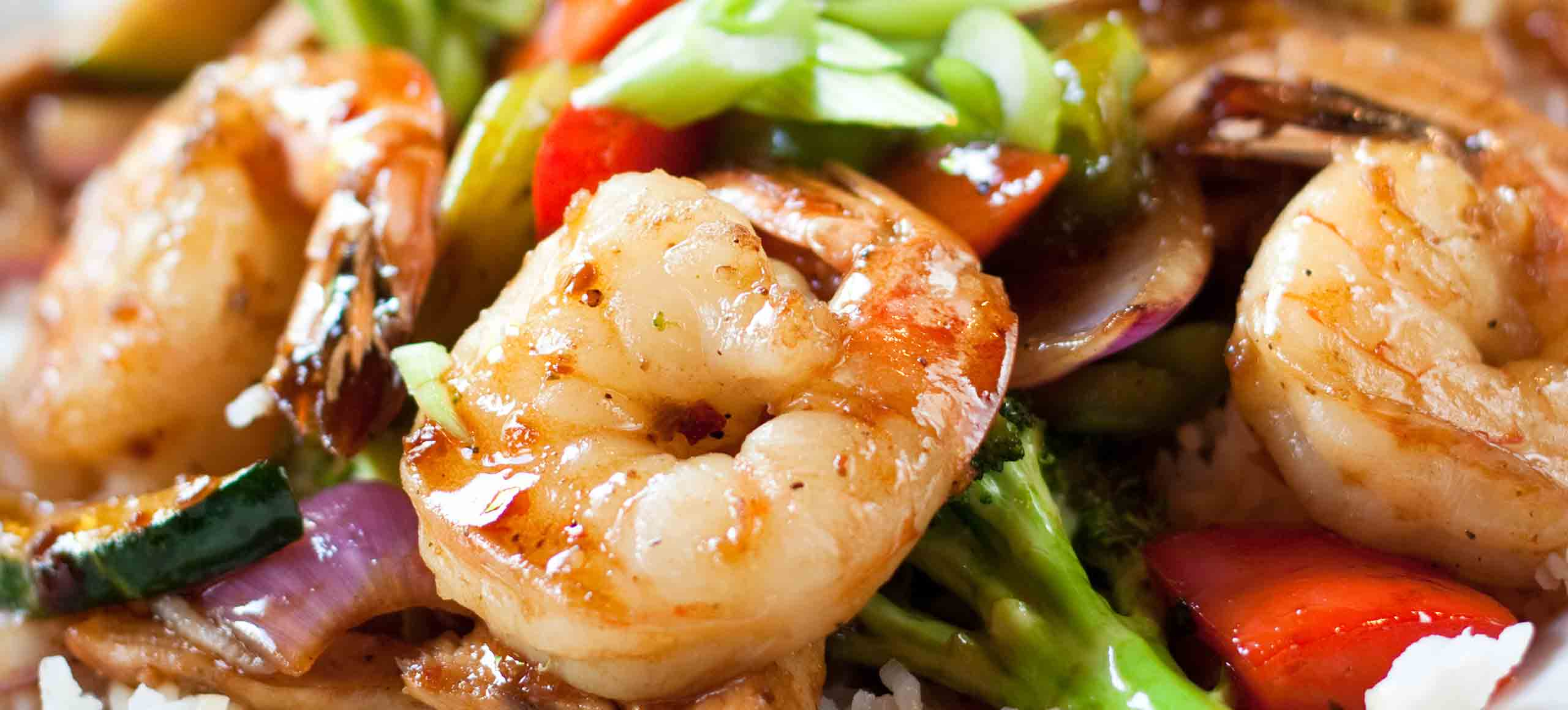 Teppanyaki Shrimp