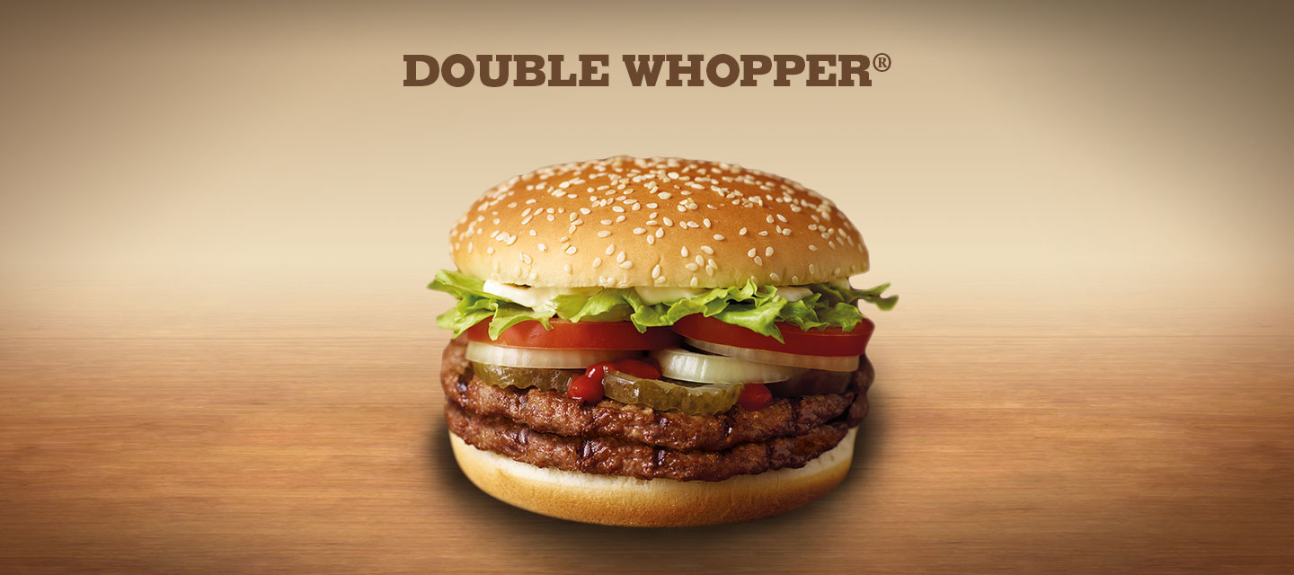 Burger King Double Who...