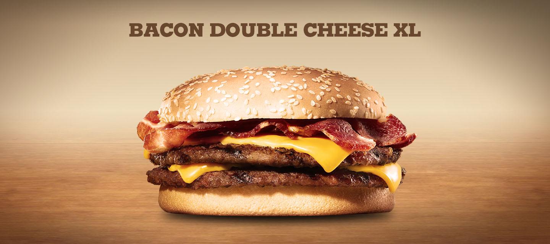 Bacon Double Cheese XL