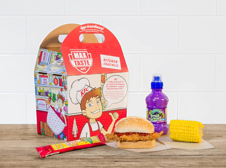 KFC CHILDRENS MENU PRICE
