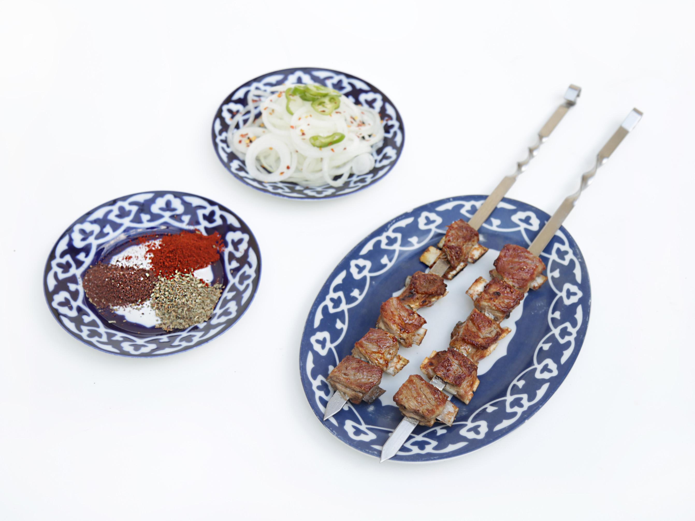 Lamb Ribs Kebab