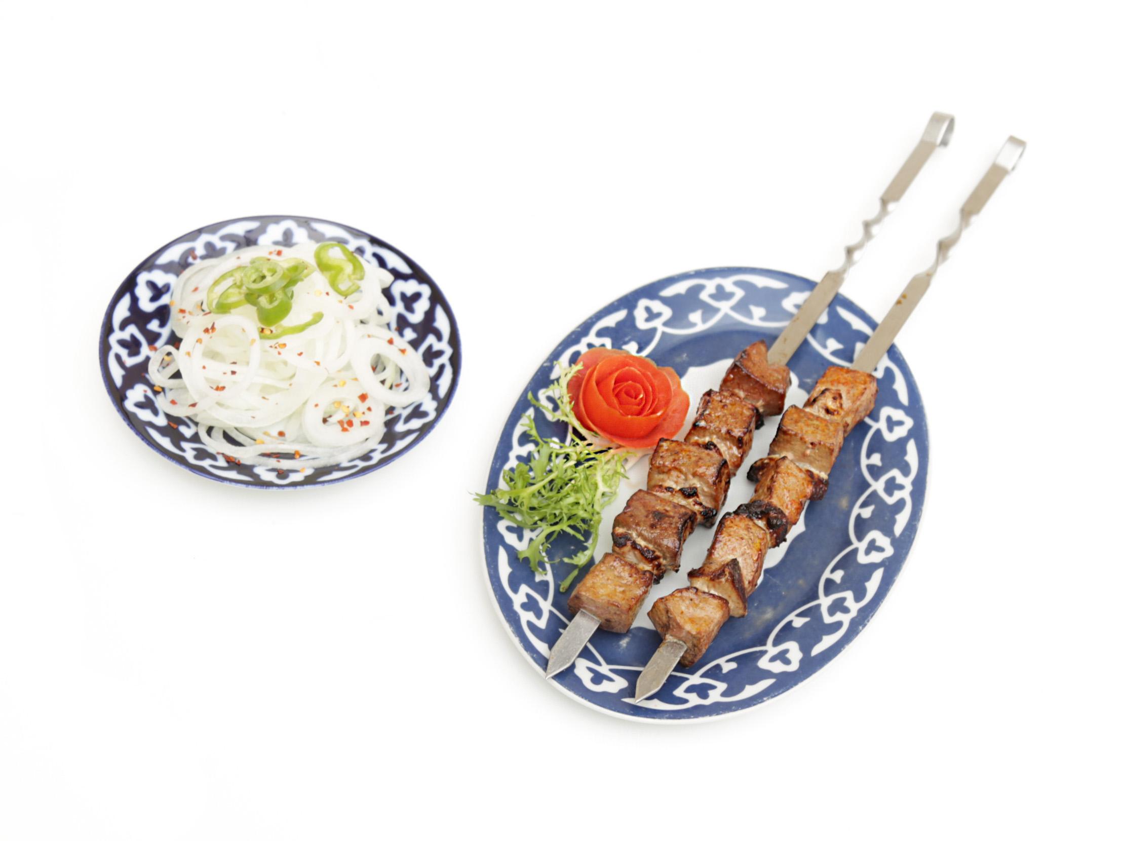 Veal Liver Kebab