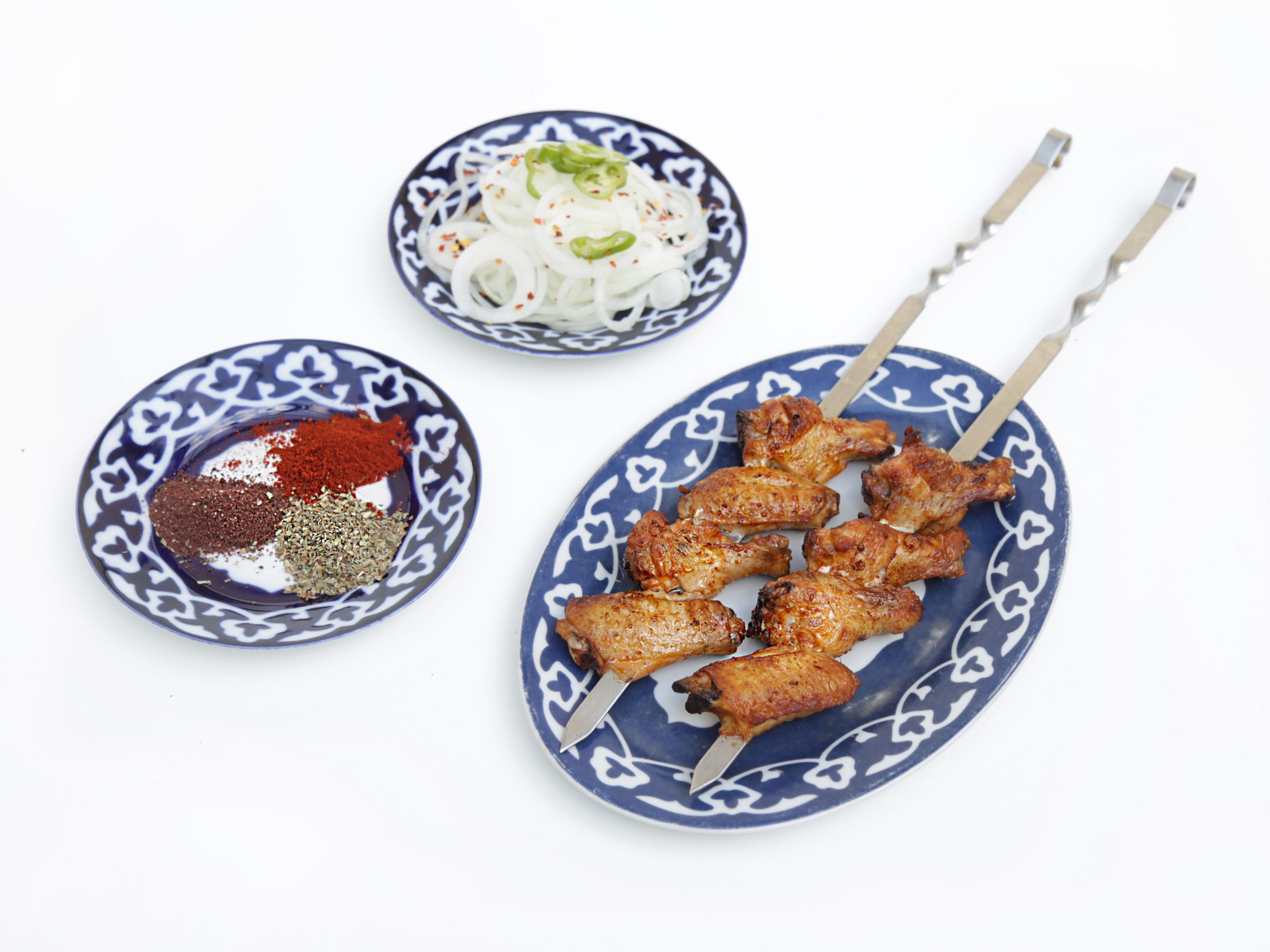 Chicken Wings Kebab