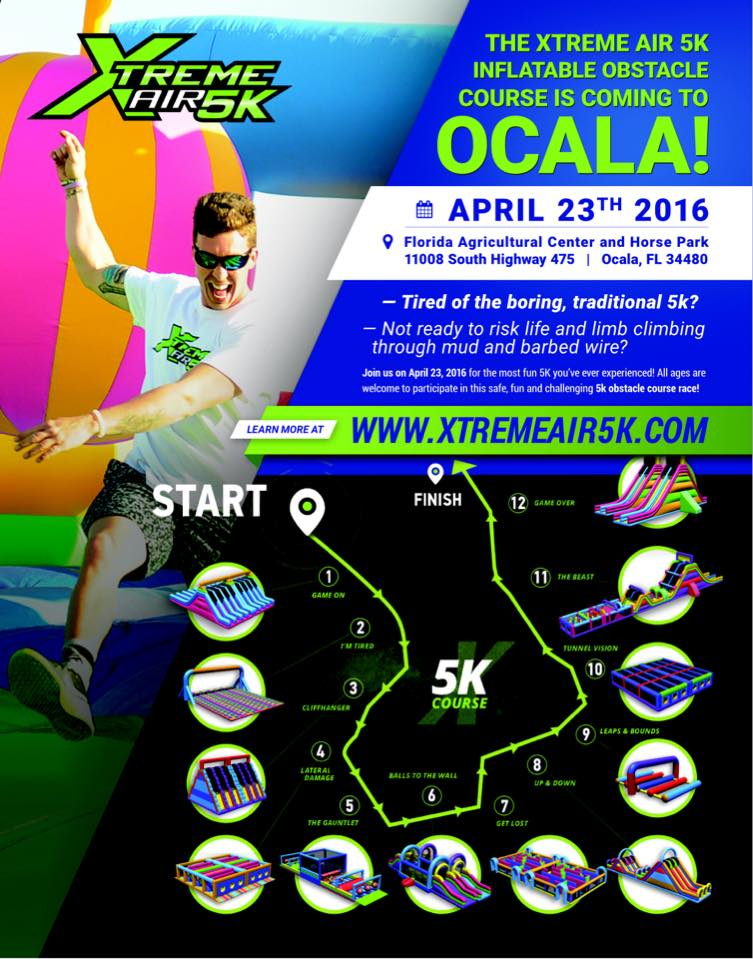 XtremeAIR 5K Race Series: Ocala FL 4/23