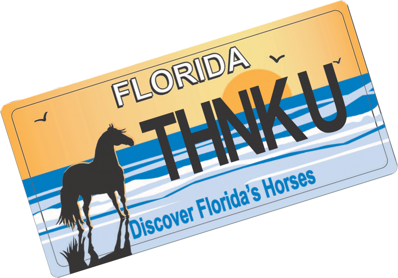 Florida Horse Plate
