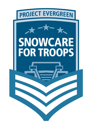 Project Evergreen Snowcare for Troops